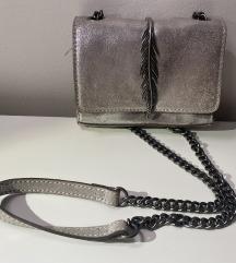 Zara torbica srebrna