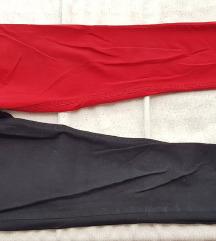 Iisf crno crvene hlače broj 40