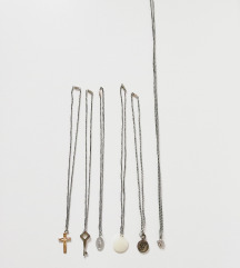 5 lančića - različito - bižuterija - naušnica