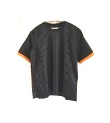 Zara crna majica na prugice (pt gratis)