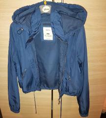 BERSHKA jakna vel S M
