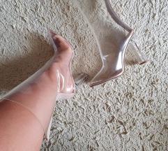 Gossip perspex clear boots