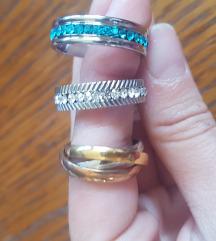 Razni prsteni od k.čelika