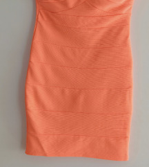 Tally Weijl bandage neon haljina