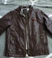 Kožna jakna za dječake