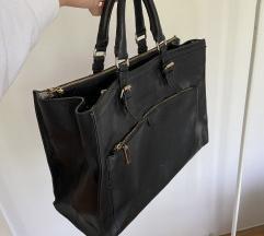 ZARA velika kožna torba