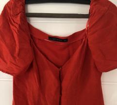 Crvena zara haljinica 36