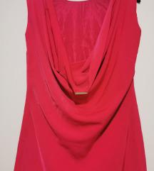 Zara ciklama mini haljinica