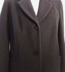 VARTEKS, klasični antracit kaput, uklj.Tisak