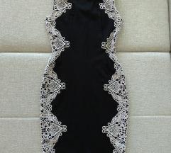 Svečana mini haljina sa čipkom