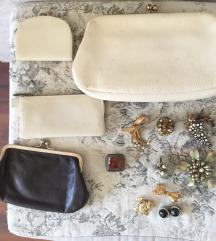 Vintage torbica i novčanici
