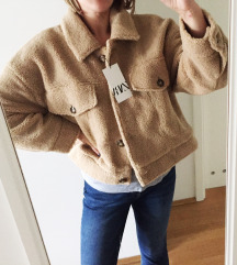 ZARA TEDDY jakna s etiketom AKCIJA 200 KN