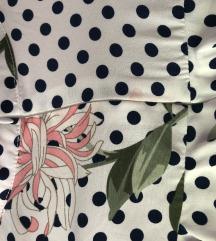 Kratka točkasta haljina