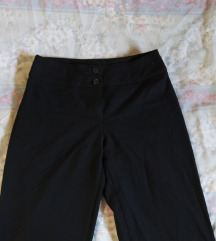 United colors of benetton poslovne crne hlače