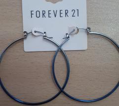 Forever 21 Blue Hoops