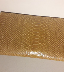 Kožna pismo torbica s dodatnim remenom