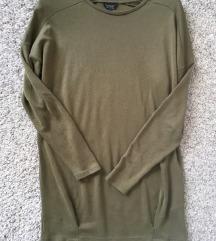 TopShop maslinasta sweatshirt vel XS-S