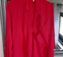 Bershka crvena košulja%