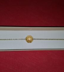 Vichy zlatna narukvica sa Swarovski elementima