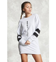 FOREVER 21 hoodie haljina