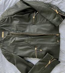 Kožna jakna Massimo Dutti