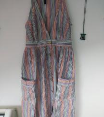 Mango haljina sa šarenim prugicama