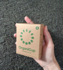 OrganiCup menstrualna čašica
