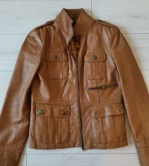 Kožna jakna konjak boje Vero moda vel.L