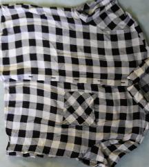 Crop top košulja
