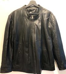 %%% Zenska biker kozna jakna 1x nosena XXL