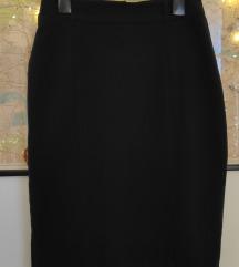 Retro crna suknja