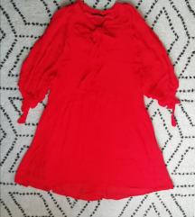 Mango crvena boho haljina sa PT