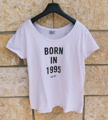 LIU JO original bijela majica sa natpisom - novo