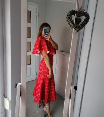 Asos crvena haljina 36/38
