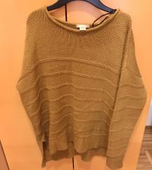H&M Sweater Senf/Smeđa