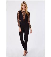 Missguided Lace Jumpsuit