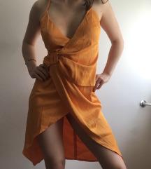 Asos narančasta haljina pt u cijeni