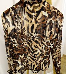NOVA tigrasta bluza/košulja  %SNIZENO 80 kn%