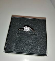 Srebrni prsten promjer 21mm