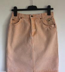 Traper retro suknja
