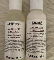 Kiehl's Amino Acid Shampoo i Conditioner💗