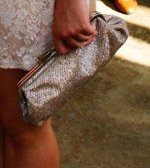 Acessorize sjajna clutch torbica