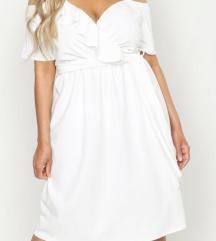 Nova bijela haljina, s etiketom!! Plus size