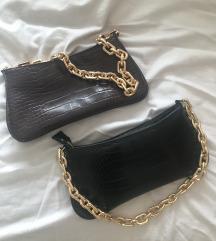 Zara torbice crna i smeđa