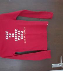 Edc by sprit Crvena ženska - dječja majica