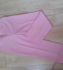 Roze poslovne hlače NOVO
