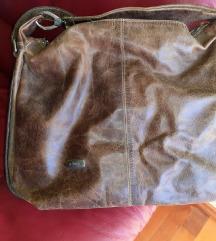 Manual &co kožna velika torba