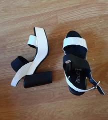 Rita C. Crno-bijele sandale >>> nove
