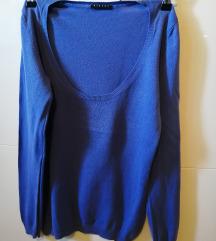 Plavi Sisley pulover S/M