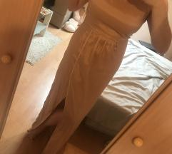 Duga zlatna haljina (besplatno slanje)